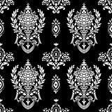 Vector Laurel Wreath Pattern