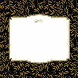 Vector Square Gold Frame