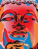 Popart Buddha
