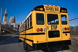 School Bus in Cleveland