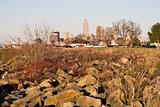 Downtown Cleveland seen from EdgeWater Park