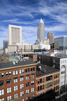 Skyscrapers in Downtown Cleveland