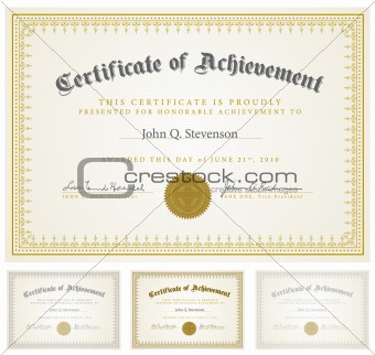 Vector Matching Certificates