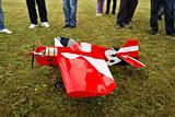 Aircraft model landed