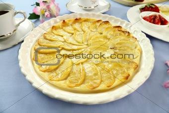 Flat Apple Pie