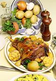 Baked Leg Of Lamb