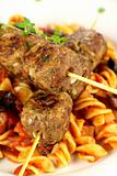 Skewers And Pasta