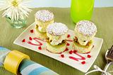 Passionfruit Sponge Stack