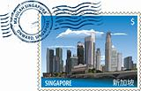 Postmark from Singapore