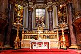 the interior of  Berliner Dom in Berlin