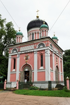 A Russian church in Potsdam Germany