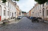 A street scene in Potsdam Germany