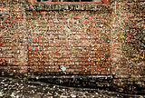 Post Alley Walls With Gum