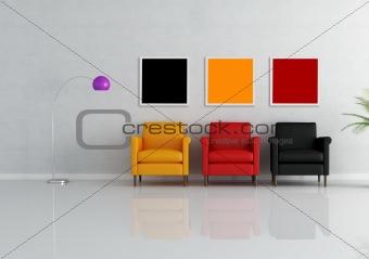three armchair