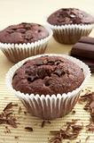 chocolate muffin sweet cake food