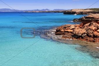 Formentera Cala Saona mediterranean best beaches