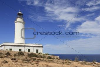 Formentera La Mota lighthouse balearic islands
