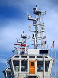 Detail of a Coastguard Ship
