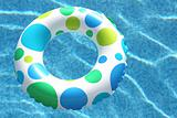 Inner Tube with Swimming Pool