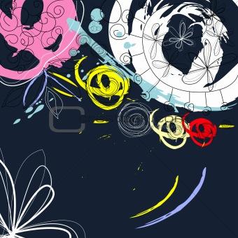 Grunge decorative background