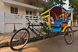 Bicycle rickshaw