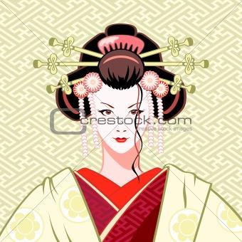 Geisha modern