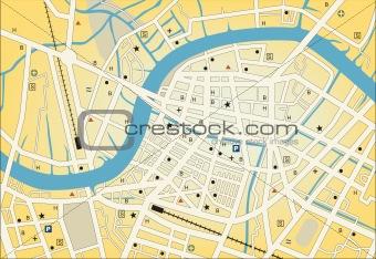 City streetmap