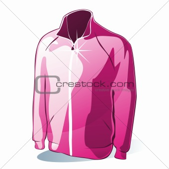 illustration of isolated jacket