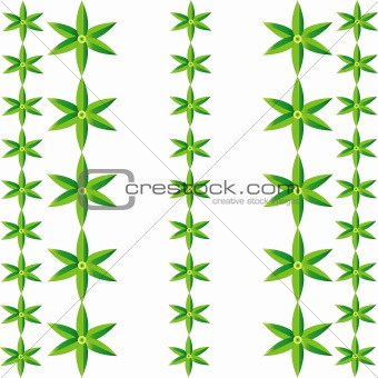 six leaves rows pattern
