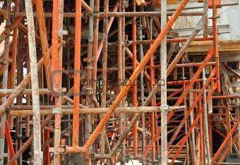 Image 2887929 Metal Scaffolding From Crestock Stock Photos