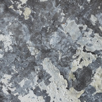 Old concrete wall with mold