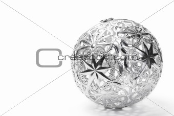 metal christmas ball