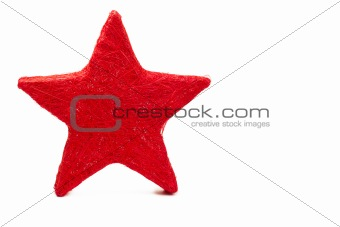 one red thread made star