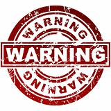 Warning Stamp