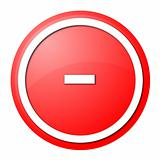 Red  Button Minus