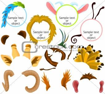 Animal icons 01