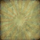 Dark vintage grunge rising sun background