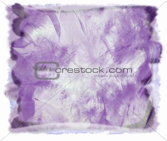 Watercolor purple abstract background