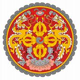 Bhutan Coat of Arms