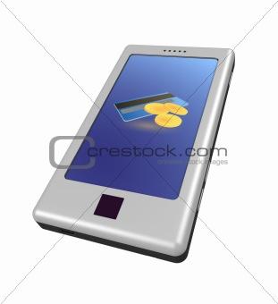 Smartphone - money