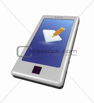 Smartphone - pencil