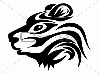 bear tattoo vector