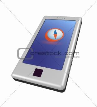 Smartphone - compass