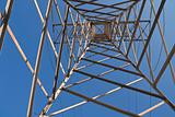 Electric tower from below