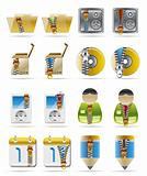 Internet, Business and Office Creative  Icon with Zipper