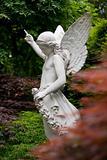 statue of angle