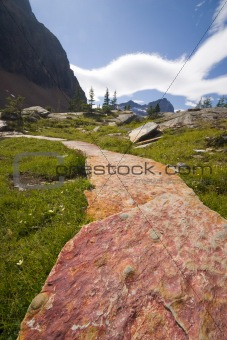 luxury trail in backcountry