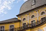 balcony of castle