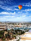 Marina and downtown Cabo San Lucas