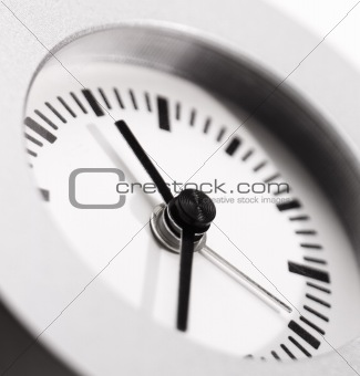 clock clean and simple
